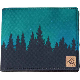 tentree Baron Wallet Meteorite Black/Northern Juniper Sub